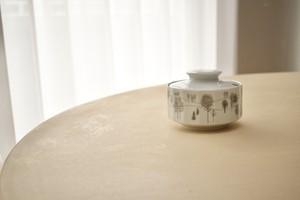 Rosenthal Polygon sugar pot (Tapio Wirkkala)