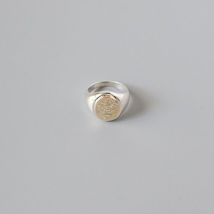 Signet Ring < 10K × silver >