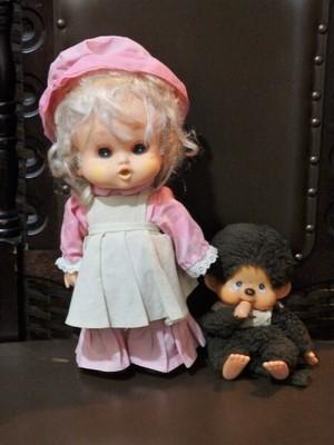 お人形 かわいいドール そばかすメイド モンチッチ(前期型) まとめ買い歓迎★