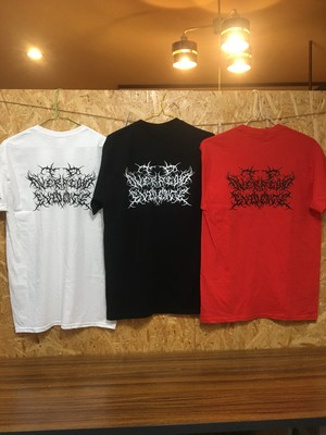 to overflow evidence / Death logo ポケットTシャツ