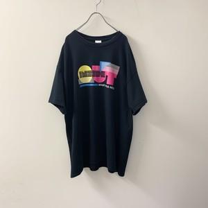 GILDAN 'INSIDE OUT' プリントTシャツ ブラック size XL メンズ 古着