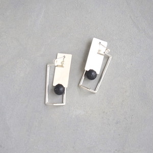 pierced earrings MP-05/earrings ME-05<silver>