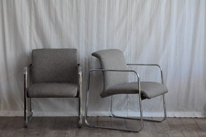 Peter Protzman Chrome Frame Chair for Herman Miller