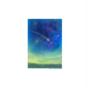 【選べるポストカード3枚セット】No.86 秋の夜空