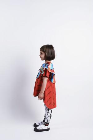 【20SS】ウルフアンドリタ(WOLF&RITA)-LUANA RUDY RUBY RED[2y/4y/6y/8y]