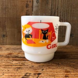 GIRL'S MUG <スタッキング ホワイト>