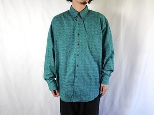 1990's GAP ハンティング柄 B.Dシャツ L