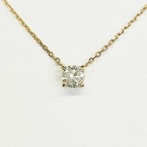 ダイヤモンドネックレス K18PG×ダイヤモンド