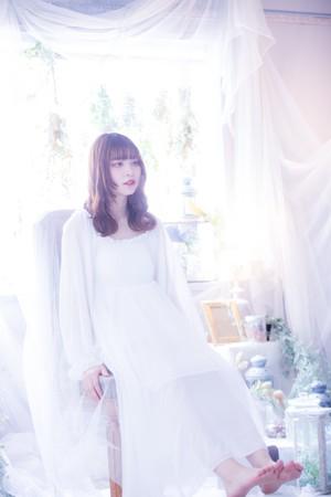 【白ワンピ】衣笠アメリチェキ