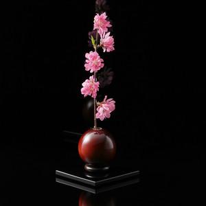 木製花器「きゅうと」敷板セット(無料ラッピング用品同梱)
