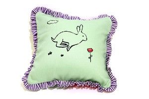 animal cushion by unpeu