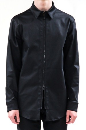 17AW Zipper Stretch Shirt