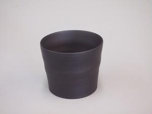 【常滑焼】ロックグラス(黒)