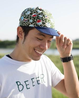*FRAME* Cycle_Cap_FUJIYAMA_GREEN / サイクルキャップ_富士山_緑