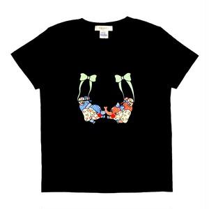 刺繍Tシャツ 空中ブランコ