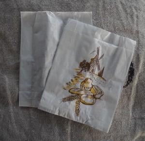 フランス  小さなマルシェ袋 10枚