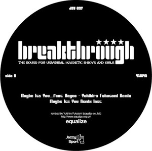 "【12""】breakthrough - Maybe It's You ... feat. Keyco"