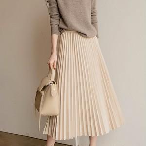 Pleated Skirt T735