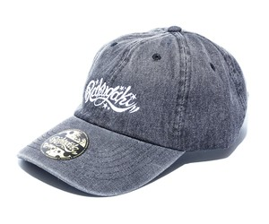RAKUGAKI Denim Dad Cap Black