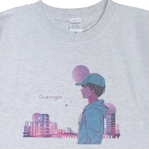 Overnight T-shirt【アッシュ】