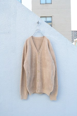 crepuscule / cotton mole cardigan