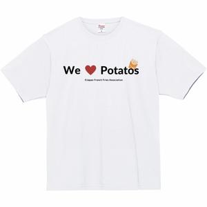 Tシャツ(We Love Potato③ - 白)