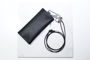 【T.A.S / ティーエーエス】 Guidi Leather Shoulder Wallet