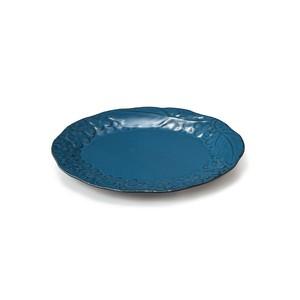 「リアン Lien」プレート 皿 長幅18cm S ブルー 美濃焼 267839
