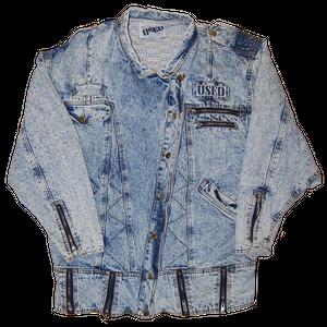 """Get Used"" Vintage W Riders Denim Jacket Used"