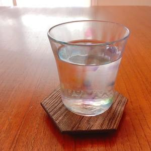 ガラス工房 Well hands. グラス タンブラーロックグラス  カラフル ブルーパープル系 水玉 ドット ウェルハンズ ガラス作家 WH-005