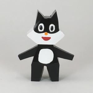 2.5次元シリーズ 日本犬(黒) フィギュア  fg-025