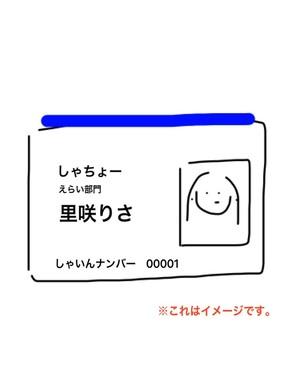 【なりきりグッズ】社員証3000円