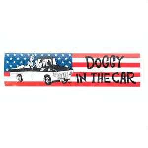 DOGGY BRO.(ドギーブロ) バンパーステッカー/星条旗