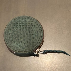 LEATHER COIN CASE (BLUE GREEN) / LOST CONTROL