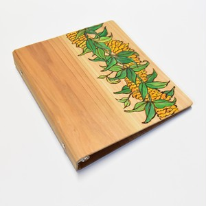 Wood File A5 【Ilima Lei】