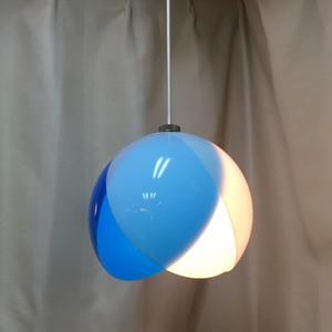 National レトロなペンダント照明【フラワー/青】(0728303S100)
