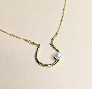 Pearl necklace | MIHO meets RUKUS