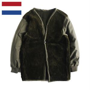 (ミリタリー)MILITARY オランダ軍 ボア コートライナー デッドストック
