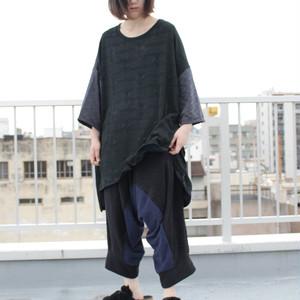 Sarrouel-Pants (black/navy)