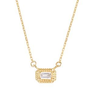 K10YGダイヤモンドネックレス 020209002255