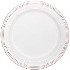 Koyo ラフィネ リムプレート 皿 約29cm スモークホワイト 15910102