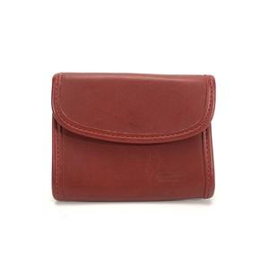 COACH コーチ レザー 二つ折り ミニ財布 財布 グラブタンレザー コンパクト ウォレット レッド Accessories rgs6wf