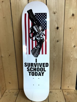 QUASI Skateboards AMERICA ONE WHITE 8.0x32.375