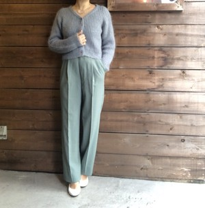 Mohair Acrylic Knit 【Vintage  product】