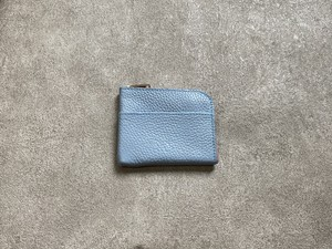 L-shaped Small Wallet: (soft shrink) Color : SkyBlue