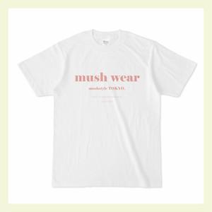 mushwear オリジナルTshirt(ピンク)