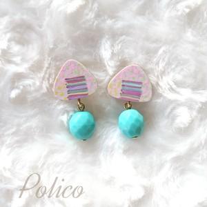 【POLICO (P)】おにぎりピアス