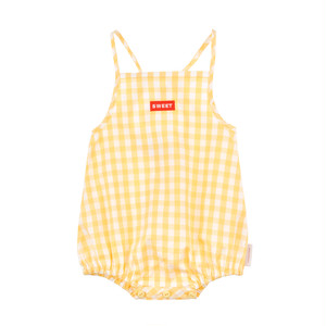 Tiny Cottons 'Check' Romper