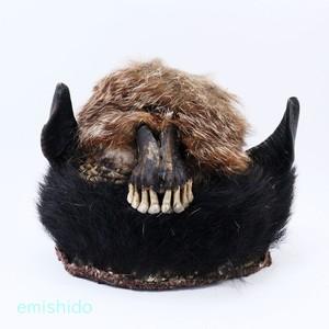 ナガ族。牙をむいた帽子 0110-MG103