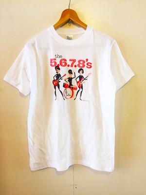 The 5.6.7.8's T-shirt SHAG-White